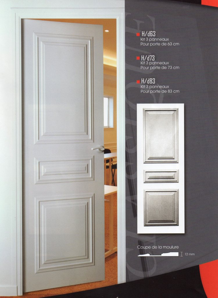 Habillage de portes decoration de porte porte moderne - Decoration porte de chambre ...