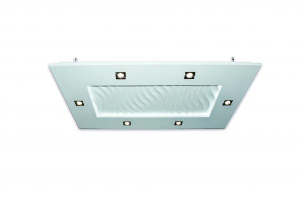 Luminaire suspension lustre eclairage lustre design for Plafonnier rectangulaire design
