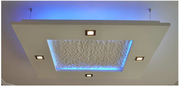 Eclairage plafond for Eclairage led interieur plafond